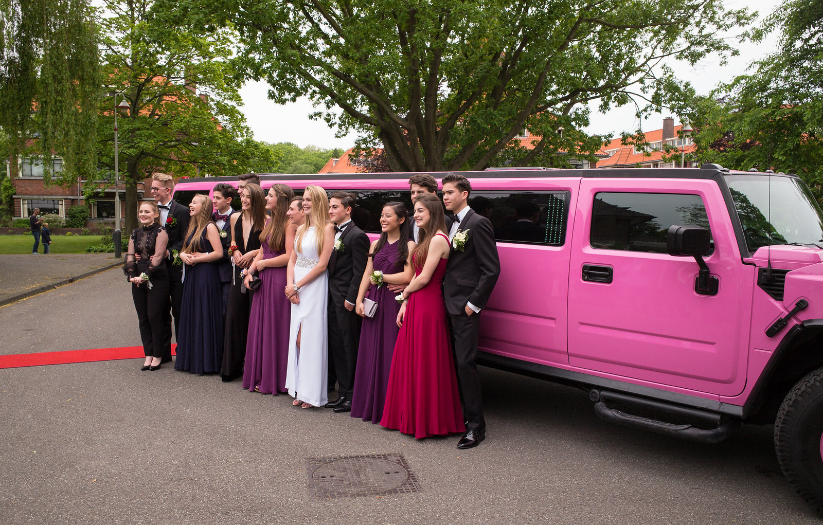 Limo party 6